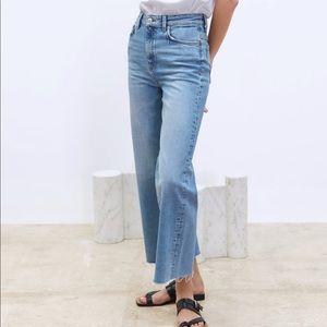Zara Wide Legged Culottes Jeans
